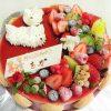 デコレーションケーキ ラズベリー